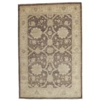 "Habawdar Hand Knotted Area Rug - 4'3"" X 6'5"""