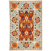 "Minoogheh Hand Knotted Area Rug - 6'2"" X 9'6"""