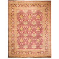 Mursazkale Red Wool Hand-knotted Area Rug (9'1 x 12')
