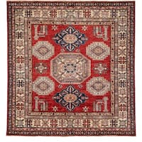 """Ghuykish Hand Knotted Area Rug (6' X 6'3"""")"""