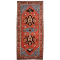 """Basayna Hand Knotted Runner (5'5"""" X 11'10"""")"""
