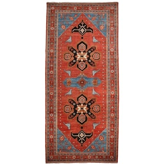 """Basayna Hand Knotted Runner Rug - 5'5"""" X 11'10"""""""