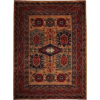 "Milarbah Hand Knotted Area Rug - 7'4"" X 10'1"""