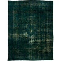 """Distressed Maras Hand Knotted Area Rug (9'6"""" X 12'7"""")"""