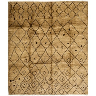 "Qanama Hand Knotted Area Rug (7'10"" X 9'6"")"