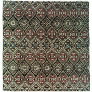 """Qaitgat Hand Knotted Area Rug (8' X 8'2"""")"""
