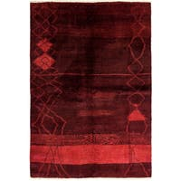 """Fashna Hand Knotted Area Rug - 5'10"""" X 8'9"""""""