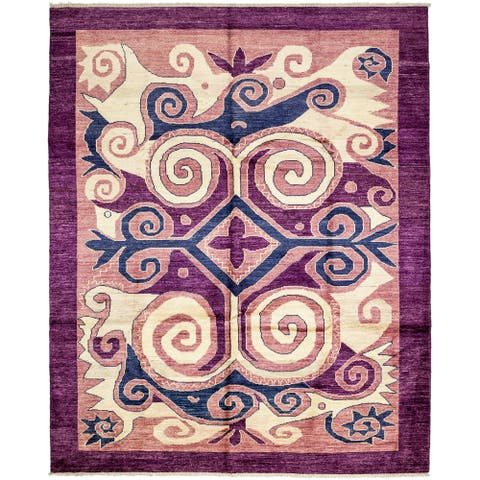 """Alahroud Hand Knotted Area Rug - 9'2"""" x 11'10"""""""