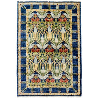 """Misradir Hand Knotted Area Rug (4'10"""" X 7'4"""")"""