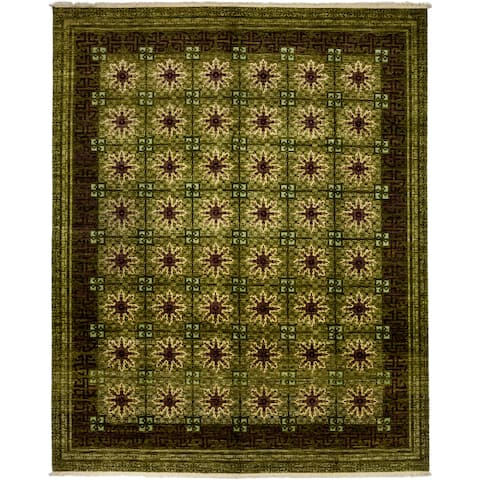 """Andiker Hand Knotted Area Rug - 8'3"""" x 10'3"""""""