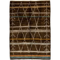 "Assarke Hand Knotted Area Rug - 6'4"" X 8'10"""