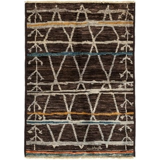 """Khotif Hand Knotted Area Rug (4'1"""" X 5'10"""")"""