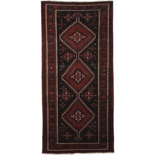 """Afshar Hand Knotted Area Rug (4'9"""" X 9'7"""")"""
