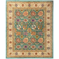 "Rabiqah Hand Knotted Area Rug - 8'1"" X 9'10"""