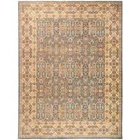 Rafira Beige Wool Hand-knotted Oriental Area Rug (9'1x11'10)