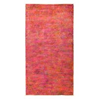 """Overdyed Kahnuyeh Hand Knotted Area Rug - 4'3"""" X 8'1"""""""