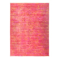 Zweimarit Hand-knotted Overdyed Area Rug - 8'9 x 11'9