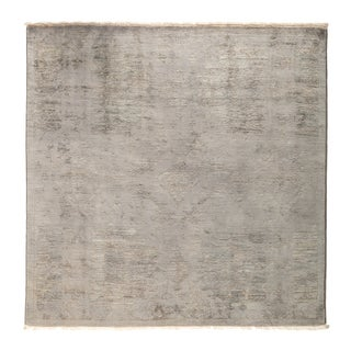"""Overdyed Arbisit Hand Knotted Area Rug (5'1"""" X 5'1"""")"""
