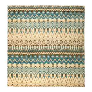 """Lammam Hand Knotted Area Rug - 9'9"""" X 10'2"""""""