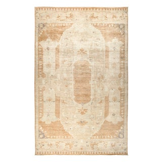 Qudsalakh Beige Wool Hand-knotted Area Rug - 10'4 x 15'9