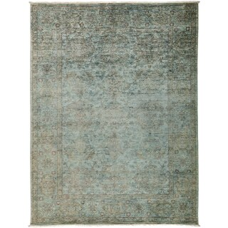 """Overdyed Samaphon Hand Knotted Area Rug (6'2"""" X 8'1"""")"""