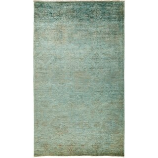 """Overdyed Saniyah Hand Knotted Area Rug (6'1"""" X 10'3"""")"""