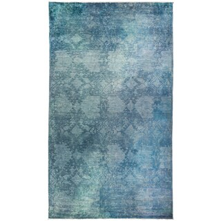 Overdyed Sahanz Hand-knotted Area Rug (8'3 x 14')