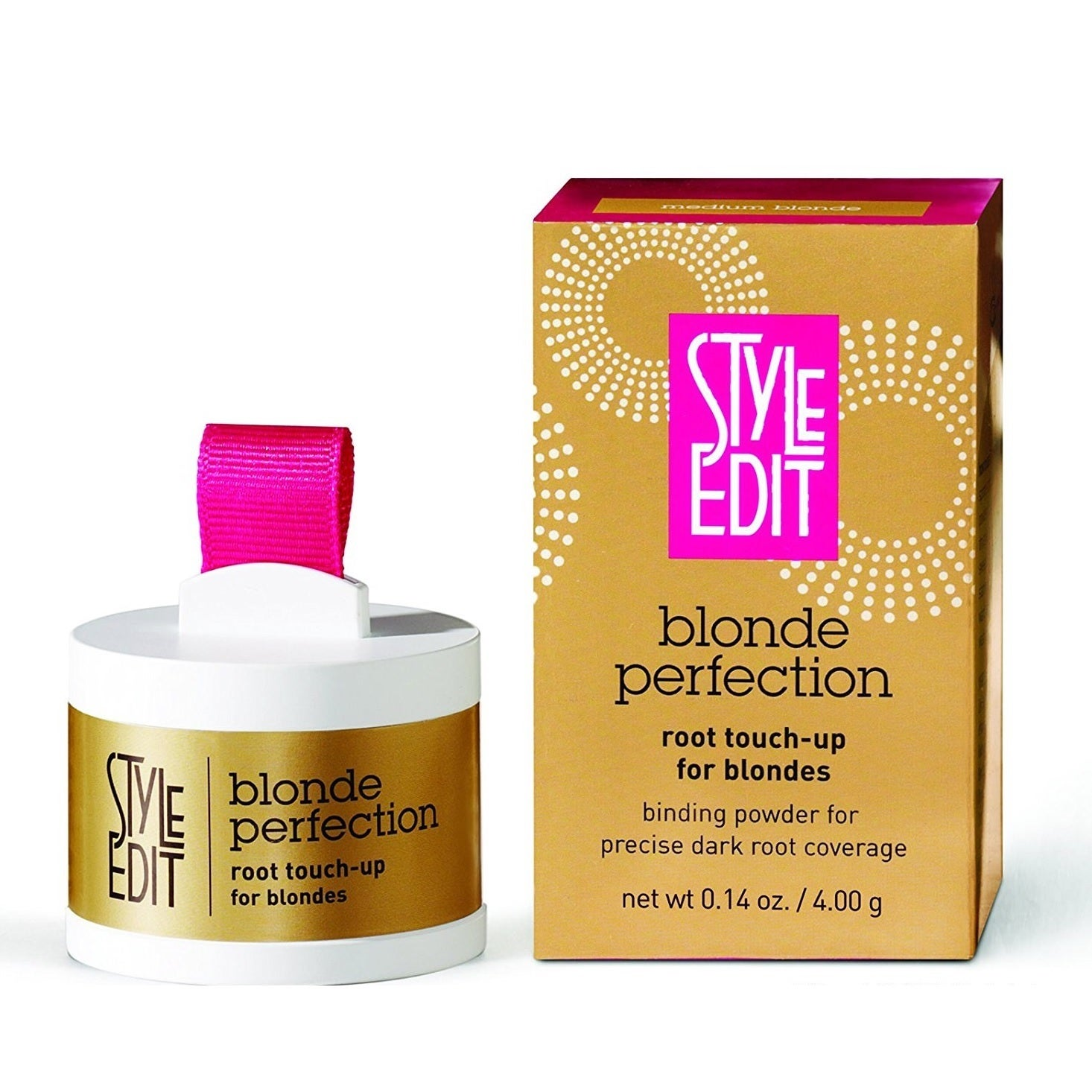 Style Edit Root Touch Up Perfection Med Blonde (Yellow)