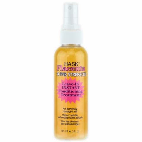 Hask Placenta 5-ounce Leave-In Conditioning Treatment Super Strength
