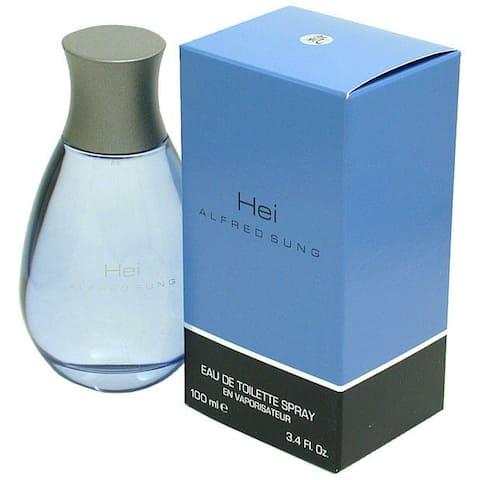 Alfred Sung Hei Men's 3.4-ounce Eau de Toilette Spray