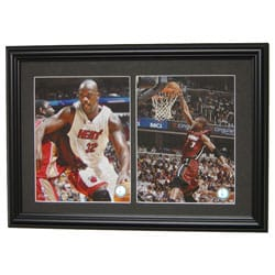 Shaquille O'Neal & Dwyane Wade Double Photo Frame
