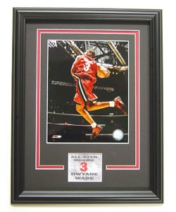 Dwyane Wade Deluxe Framed Photograph