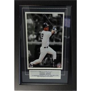 New York Yankees Derek Jeter Deluxe Framed Photograph