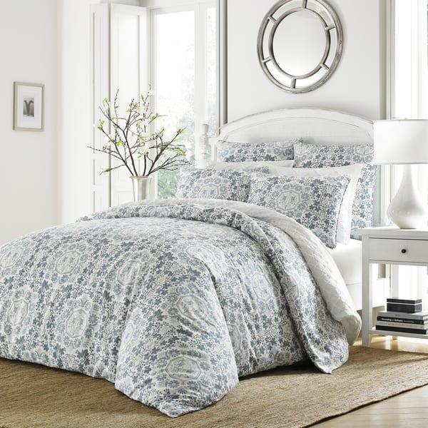Shop Stone Cottage Caldecott Blue Comforter Set On Sale