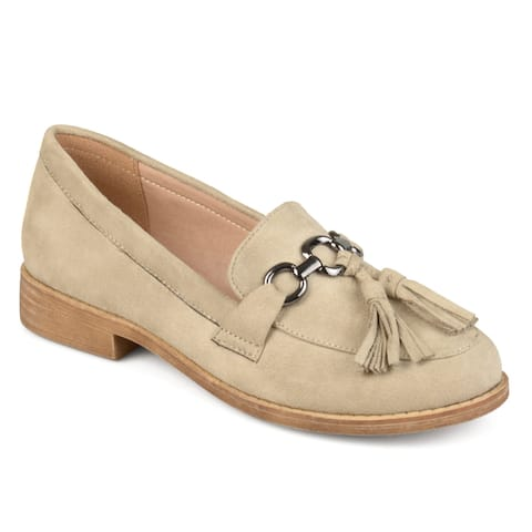 ab8e87a3911f Buy Beige Women's Loafers Online at Overstock | Our Best Women's ...