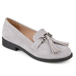 Journee Collection Women's 'Capri' Faux Suede Tassel Loafers (More options available)