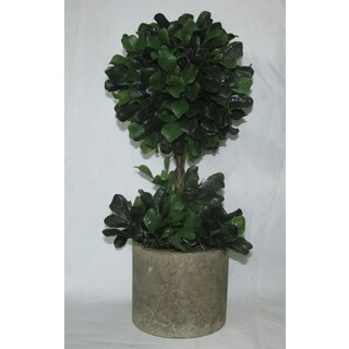 Jeco Artificial Resin 18-inch Topiary