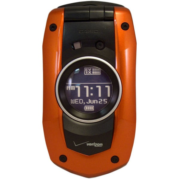 OEM TPCSC7100BO Verizon Casio Orange Mock Dummy Display Replica Toy Cell Phone