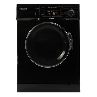 All-in-One 13 lb. 1200 RPM Compact Combo Washer Dryer Black