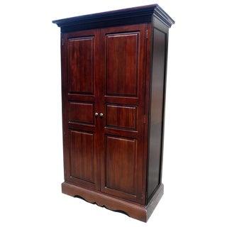 Benecia 2 Door Armoire Shelving Cabinet