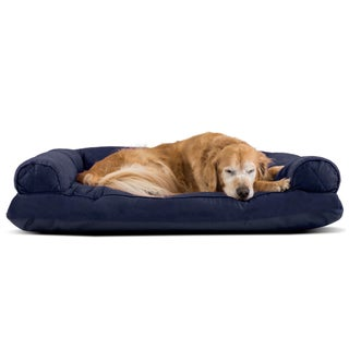FurHaven Quilted Pillow Sofa Dog Bed Pet Bed (More options available)