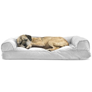 FurHaven Quilted Pillow Sofa Dog Bed Pet Bed (4 options available)