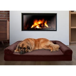 FurHaven Quilted Memory Top Dog Couch Pet Bed|https://ak1.ostkcdn.com/images/products/15996813/P22391029.jpg?impolicy=medium