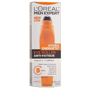 L'Oreal Paris 0.33-ounce Men's Expert Hydra Energetic Eye Roller Anti-Fatigue