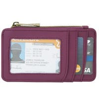 Travelon RFID Blocking Leather ID and Card Holder