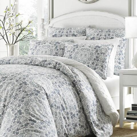 Gracewood Hollow Shnorhali Grey Duvet Set