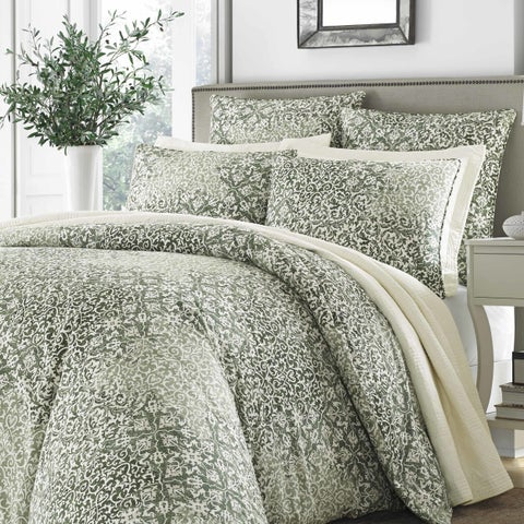 Gracewood Hollow Gandzak Green Comforter Set