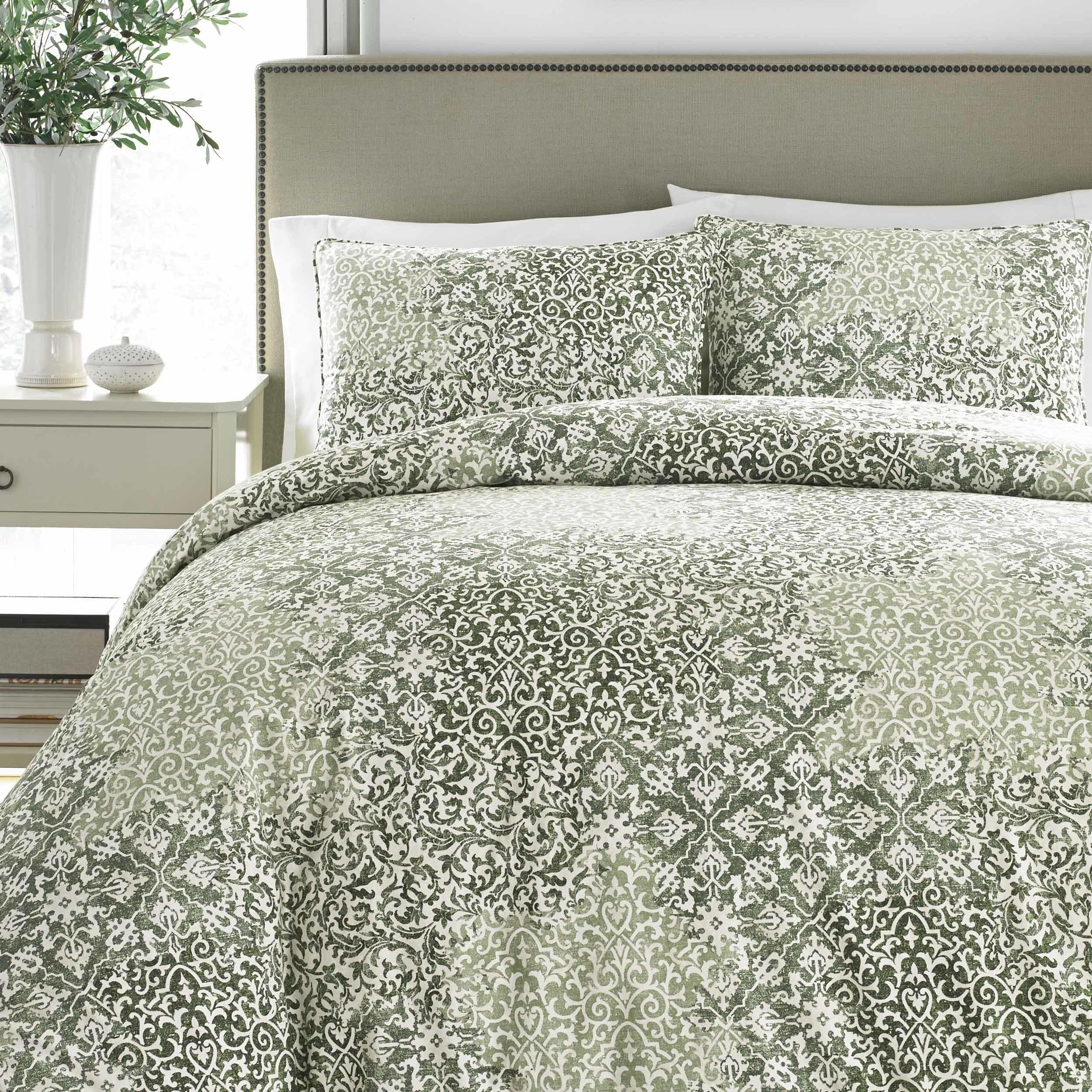 Gracewood Hollow Gandzak Green Comforter Set