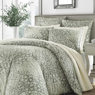 Stone Cottage Abingdon Green Duvet Set