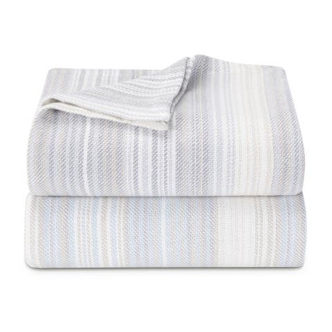Tommy Bahama Sandy Shore Striped Blanket